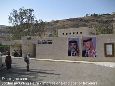 jordan petra visitors center
