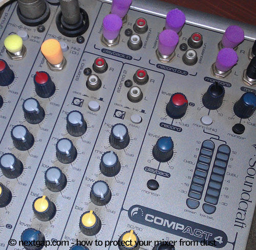 How To Protect Your Sound Mixer From Dust